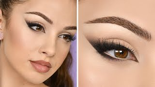 FOXY EYES Makeup Tutorial ( Eye Lift Without Surgery ) - Bella Hadid