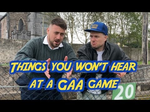 Things you won't hear at a GAA match - 2 Johnnies (sketch)