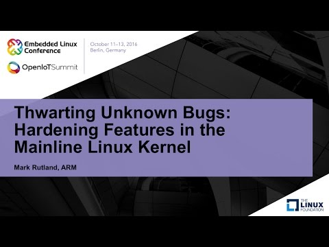 Thwarting Unknown Bugs: Hardening Features in the Mainline Linux Kernel