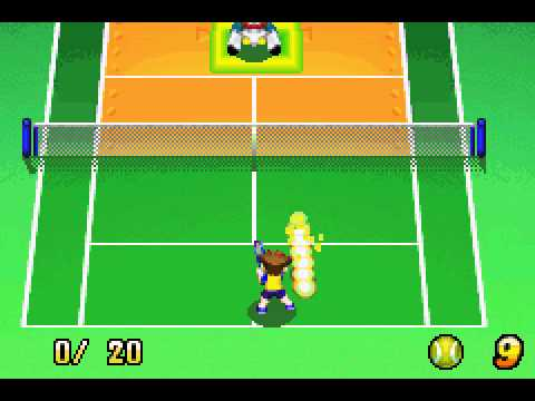 Mario Tennis - Power Tour- Training after Junior Class Completion! |