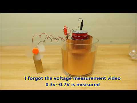 How To Make  Salt Water Battery At Home  Free Energy  소금 물 배터리 만들기 무한에너지