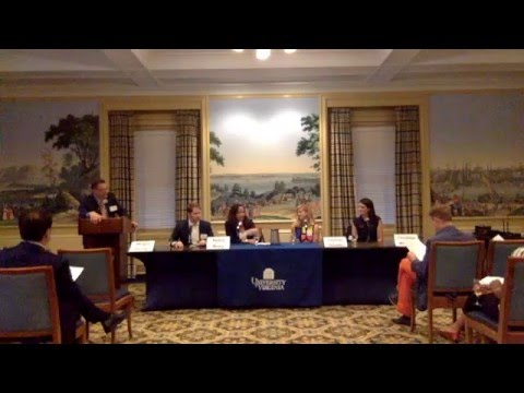 2016 UVA Arts Panel - Virginia Club of New York