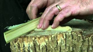 DIY Bamboo Knife That Actually Cuts