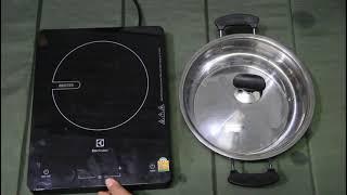 รีวิว เตาแม่เหล็กไฟฟ้า Electrolux รุ่น ETD29KC วิธีตั้งเวลา ระดับความร้อน