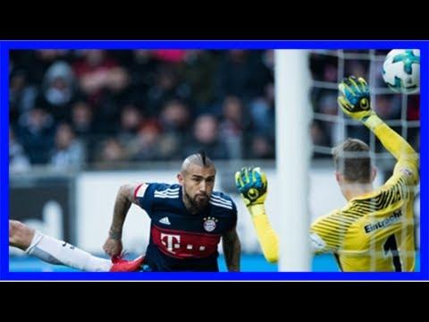 Eintracht frankfurt v bayern münchen match report, 12/9/17, bundesliga   goal.com