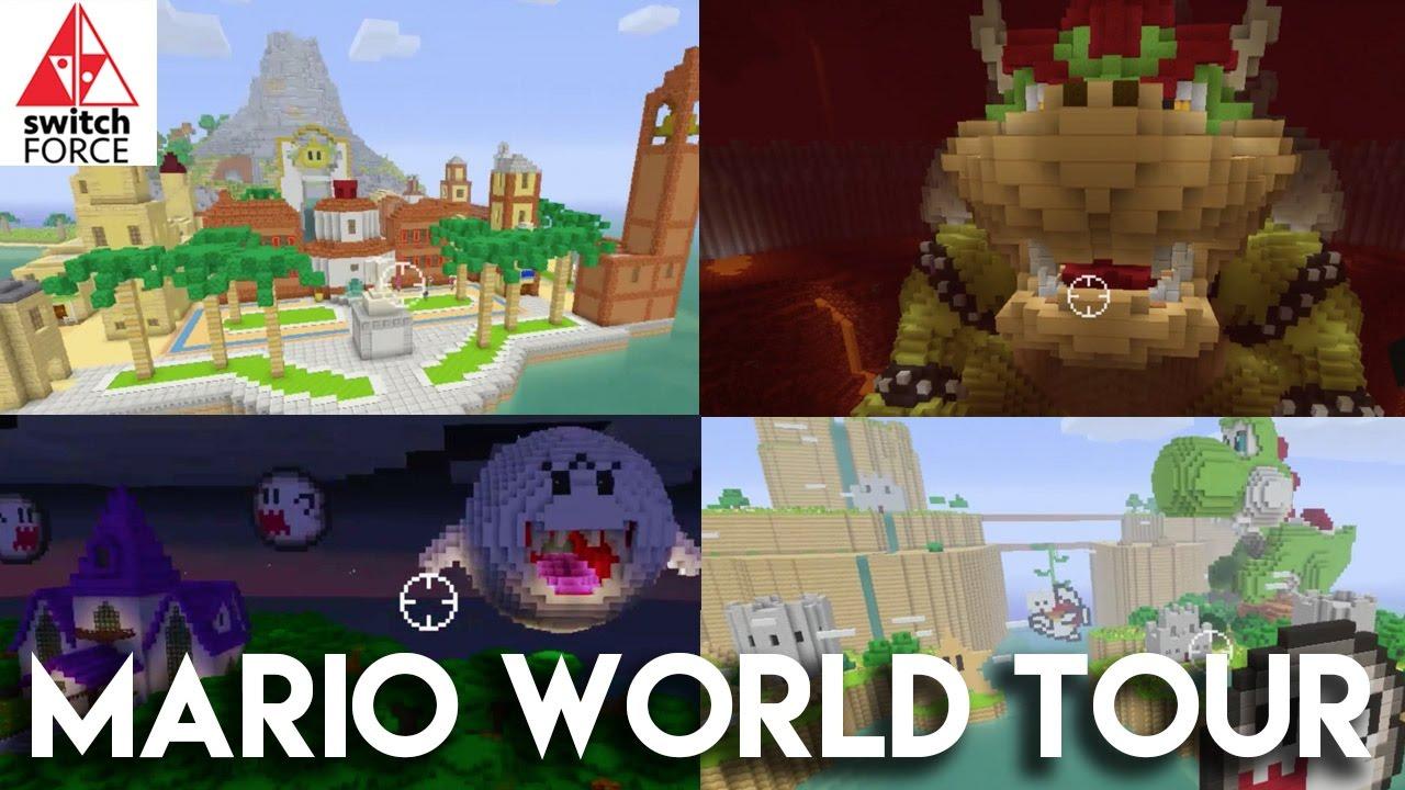 Minecraft Nintendo Switch Edition - Exploring Super Mario World!