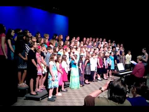 Crescent Lake School Chorus singing Rolling in the deep by Adele