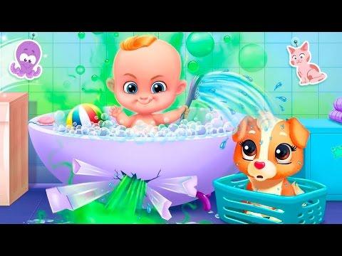 БЭБИ БОСС ВОНЮЧКА Уход за ОЗОРНЫМ малышом Кормление и ВЕСЕЛОЕ купание в ванной Smelly BOSS baby