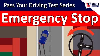 Emergency Stop Driving Lesson and ABS explained - Pass your Driving Test Series