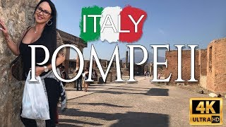 Tour The Ruins Of Pompeii In 4K with Mariah Milano!