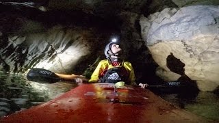 Kayaking Deep Underground Through Mexican Cav...