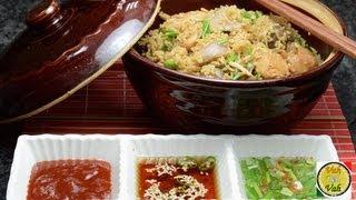 Pot Chicken Rice - Oriental Biryani - By VahChef @ VahRehVah.com