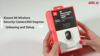 Xiaomi Mi 360 Wireless Security Camera Unboxing & Setup | Digit.in