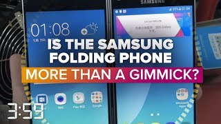 Samsung's foldable smartphone challenge (The 3:59, Ep. 485)