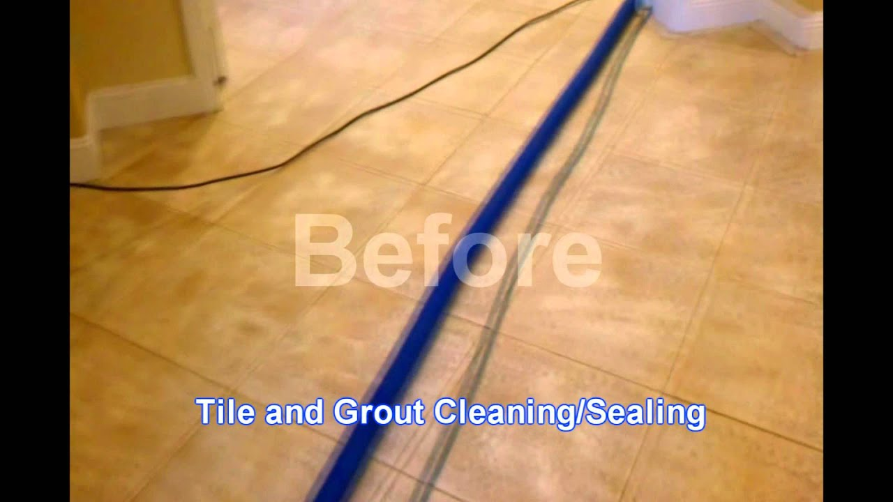 Ceramic and tile sealing and floor waxing youtube doublecrazyfo Images