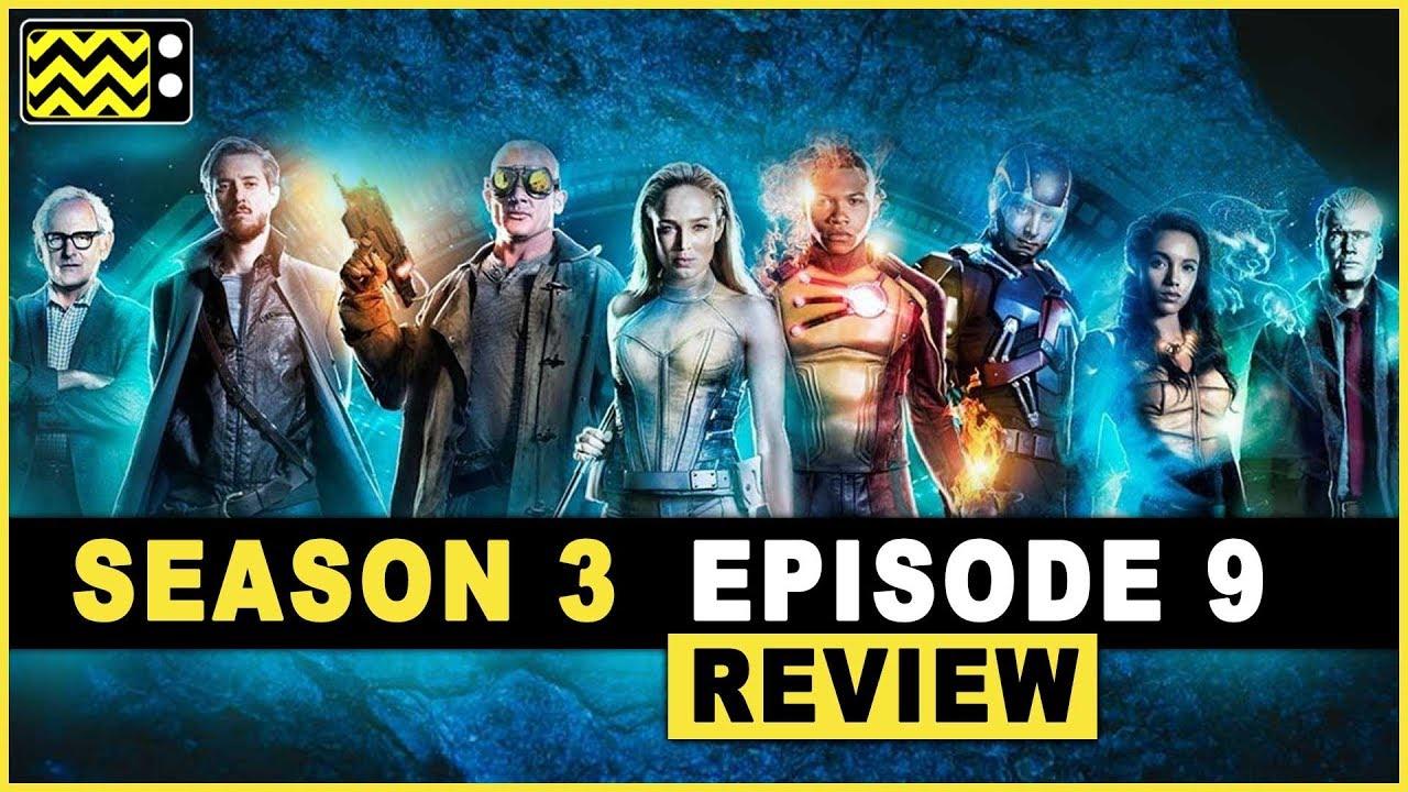 legends of tomorrow season 3 episode 9