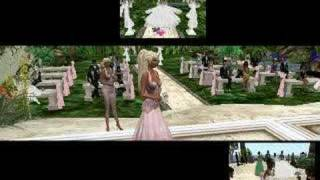The Wedding of Heidi and Alex in Second Life.