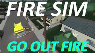 Roblox Fire Sim! [Roblox Fire Dept] EP:1