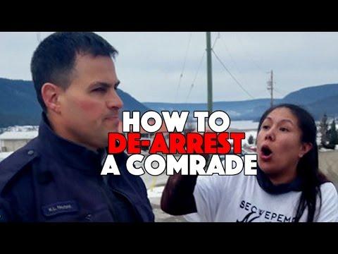 How to De-Arrest a comrade