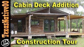 Cabin Deck Addition - Tour