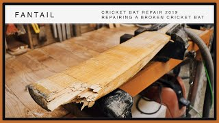 REPAIRING A BROKEN CRICKET BAT!!