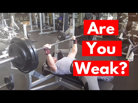 Why You Can't Bench Press 225 for Reps