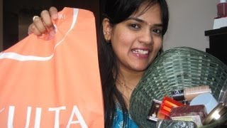 Makeup haul from Walmart,Target,Ulta and cosmetics from India