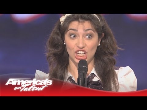 Celebrity Impressions - Melissa Villasenor - America's Got Talent Audition - Season 6