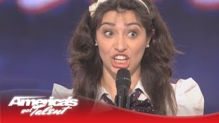 Celebrity Impressions - Melissa Villasenor - America's Got Talent Audition - Season 6 thumbnail