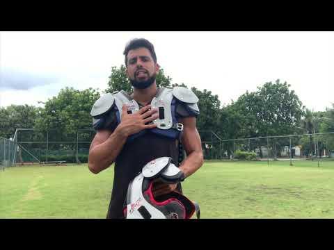 Shoulder Pad Riddell Power SPX / JPX Review - Football Equipment - Rio Football