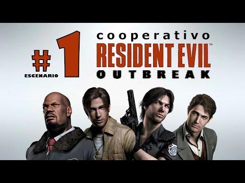 """Resident Evil Outbreak - Escenario 1 """"Outbreak"""" - Cooperativo"""