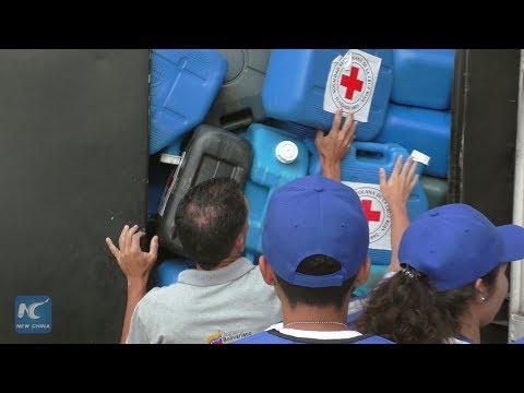 Venezuela receives first shipment of Red Cross humanitarian aid