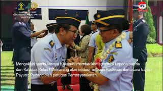 Lepas Sambut Kepala Divisi Pemasyarakatan Kanwil Kemenkumham Jateng [01 juli 2018]