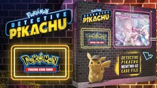 Opening 6x MewTwo GX Detective Pikachu Case File Boxes - Pokemon TCG