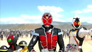 Kamen Rider: Battride War - OPENING/仮面ライダー バトライド・ウォー - オープニング [HD]