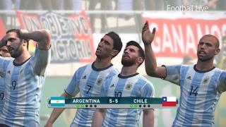 PES 2017 | Argentina vs Chile | Penalty Shootout | Gameplay PC