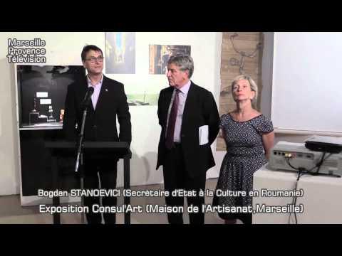 Exposition Consul'Art à La Maison de l'Artisanat de Marseille