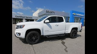 2017 Colorado LT 4WD Extended Cab Summit White
