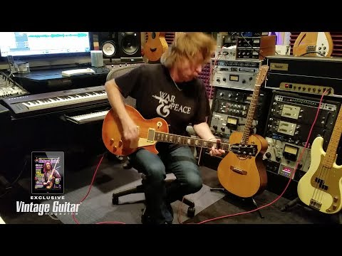Overdubbing with Jeff Pilson