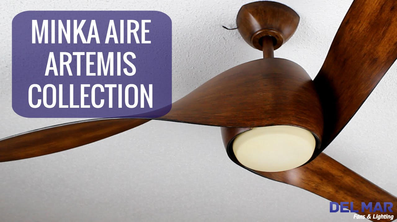 minka aire artemis ceiling fan collection  youtube -