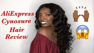 BEST AND MOST AFFORDABLE  ALIEXPRESS HAIR!!!! STYLING TIPS AND REVIEW | CYNOSURE HAIR