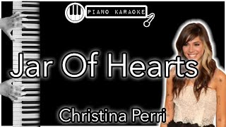 Jar Of Hearts - Christina Perri - Piano Karaoke Instrumental