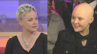 Gail Porter's hair is growing back