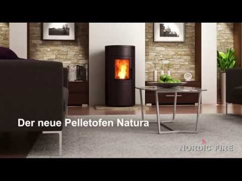 wandmontage pelletofen von mit rauchgasf. Black Bedroom Furniture Sets. Home Design Ideas