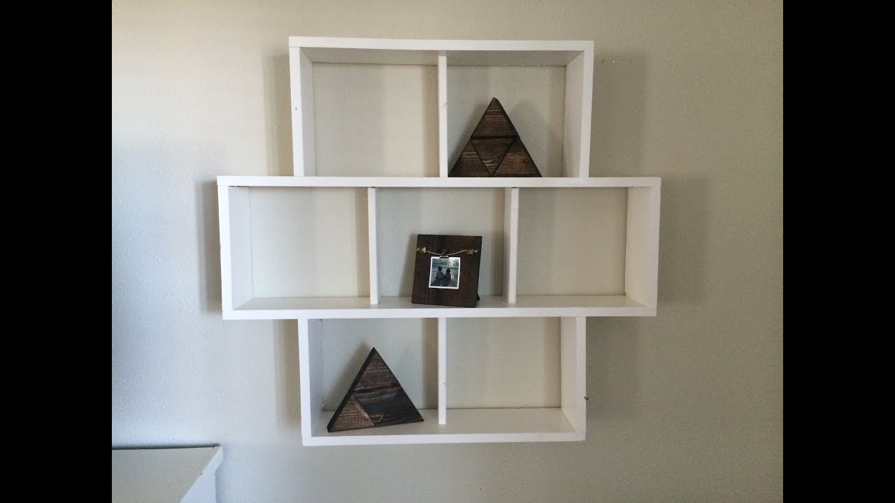 Diy wall shelf youtube amipublicfo Gallery