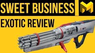 Скачать Destiny 2 Sweet Business Exotic Review
