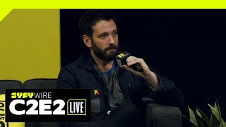 Colin Donnell On Arrow Ending | C2E2 2019 | SYFY WIRE