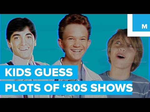 Kids Hilariously Guess the Plots of '80s TV Shows - YouTube