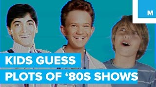 Kids Hilariously Guess the Plots of '80s TV Shows