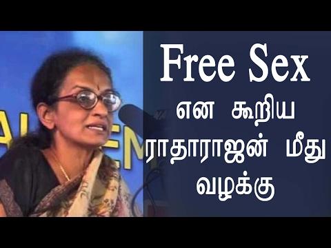Jallikattu Protest - Free Sex என கூறிய ராதாராஜன் மீது வழக்கு  -~-~~-~~~-~~-~- Please watch: